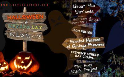 Halloween 2018 & Nevada Day in Las Vegas