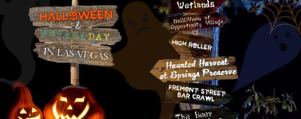 Halloween 2018 & Nevada Day in Las Vegas