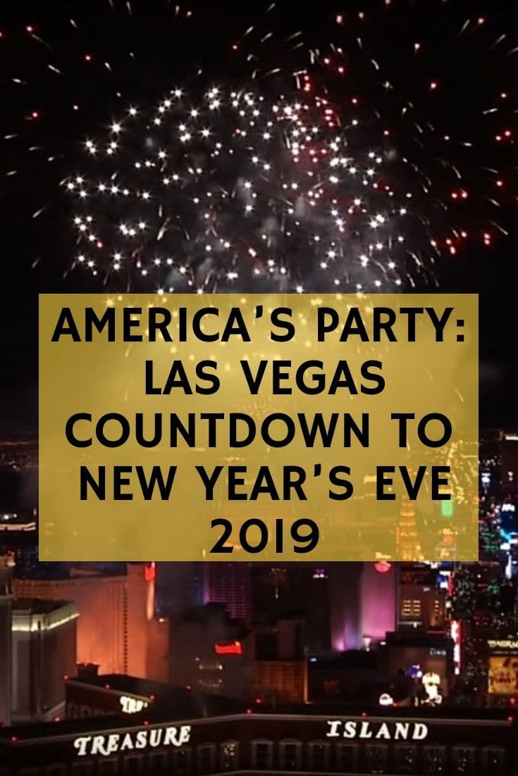 Las Vegas Countdown to New Year's 2019