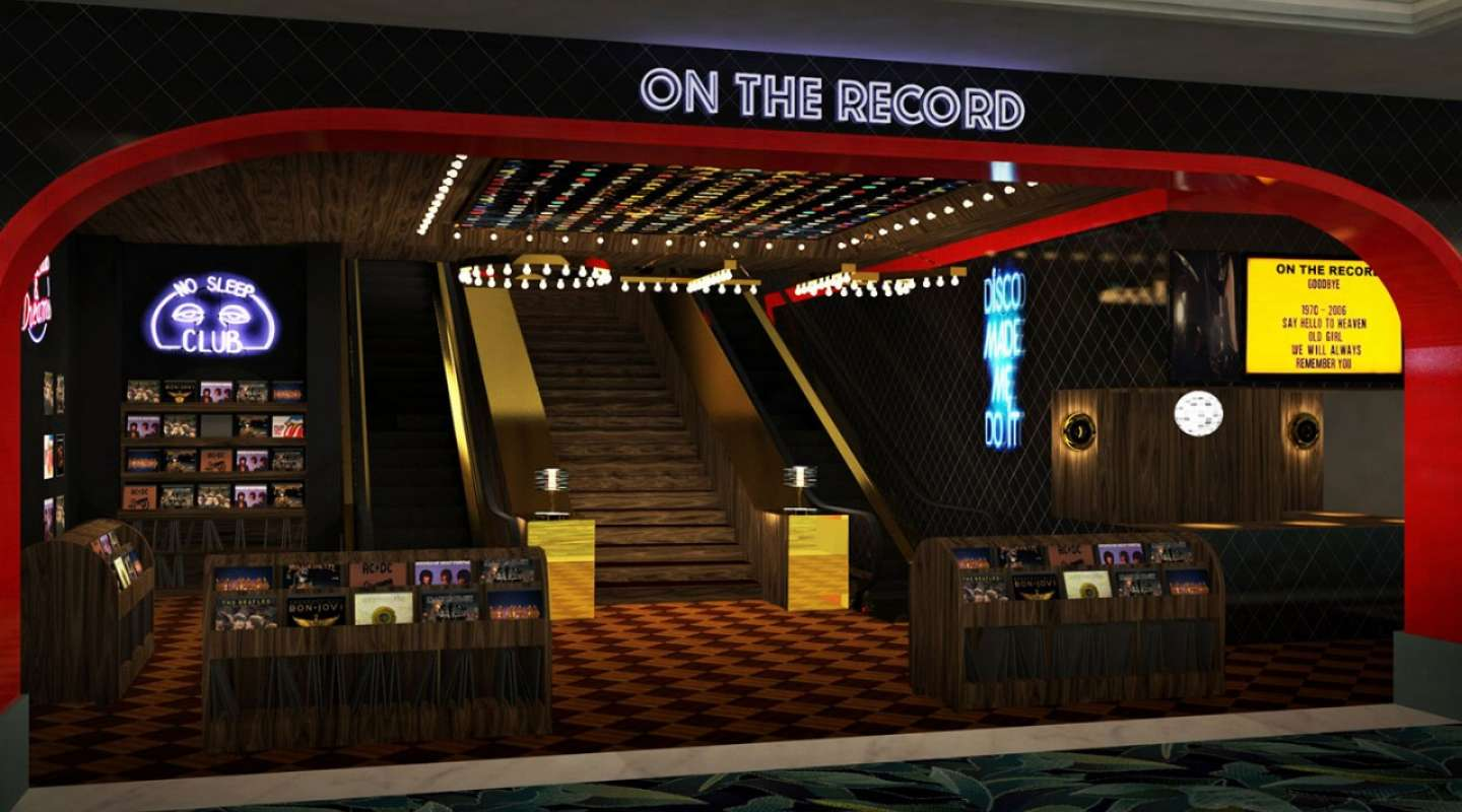 Park MGM Las Vegas On The Record Nightclub