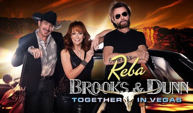 Reba, Brooks & Dunn together in Vegas show