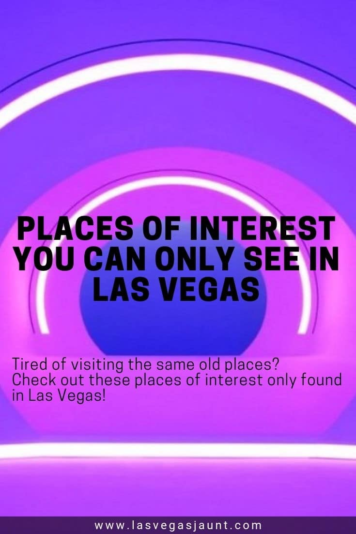 Places of Interest You Can Only See in Las Vegas