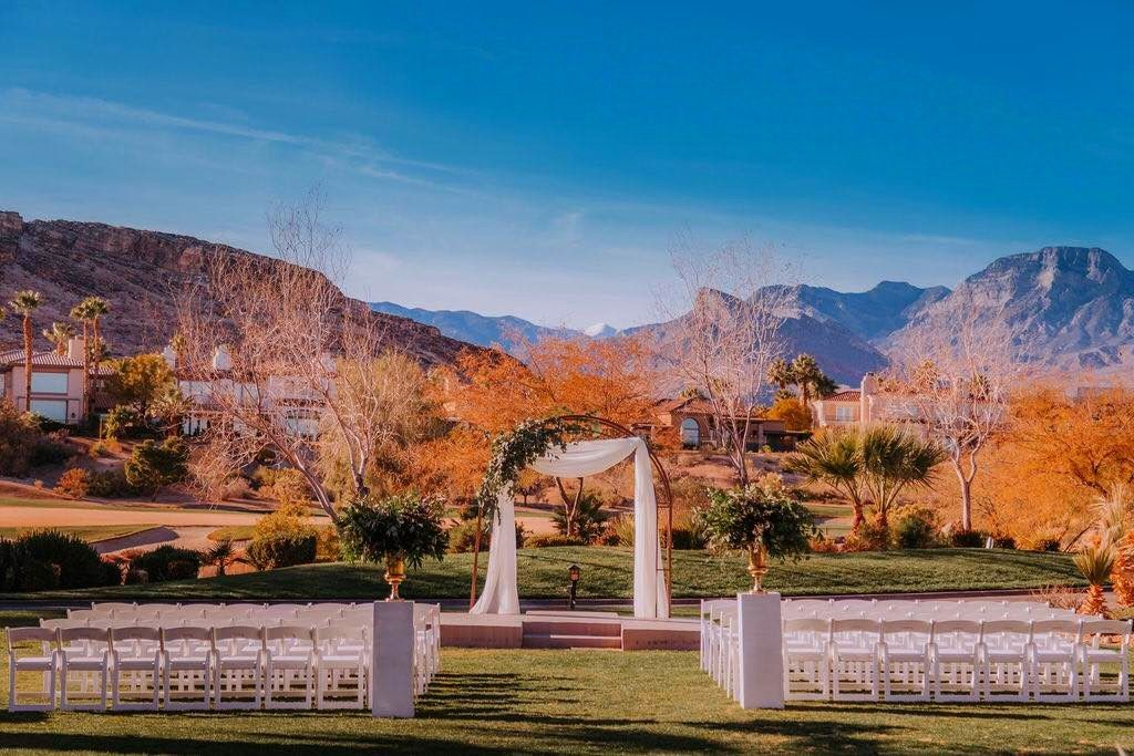 Red Rock Country Club Wedding Las Vegas