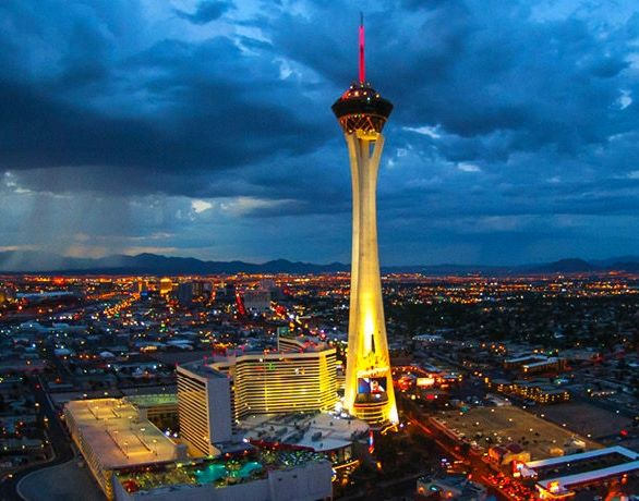 Stratosphere Las Vegas Night