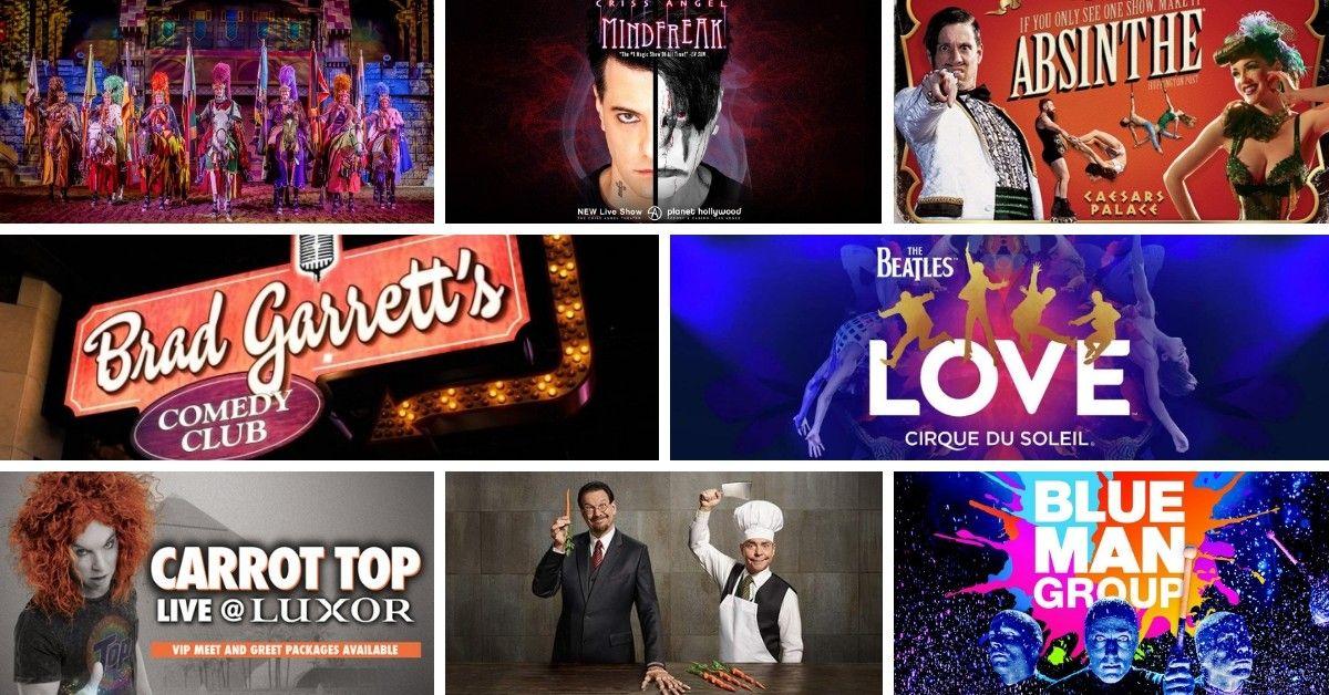Las Vegas Best 2019 Shows