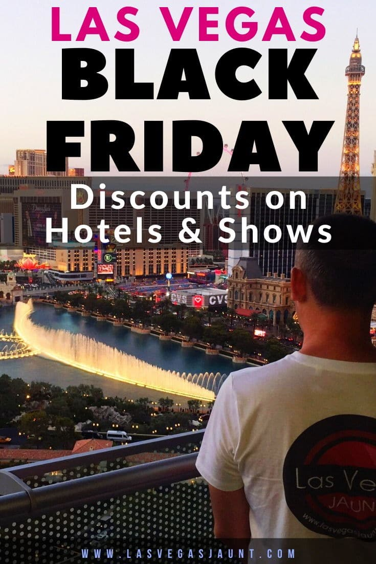 Las Vegas Black Friday Discounts on Hotels & Shows 2020