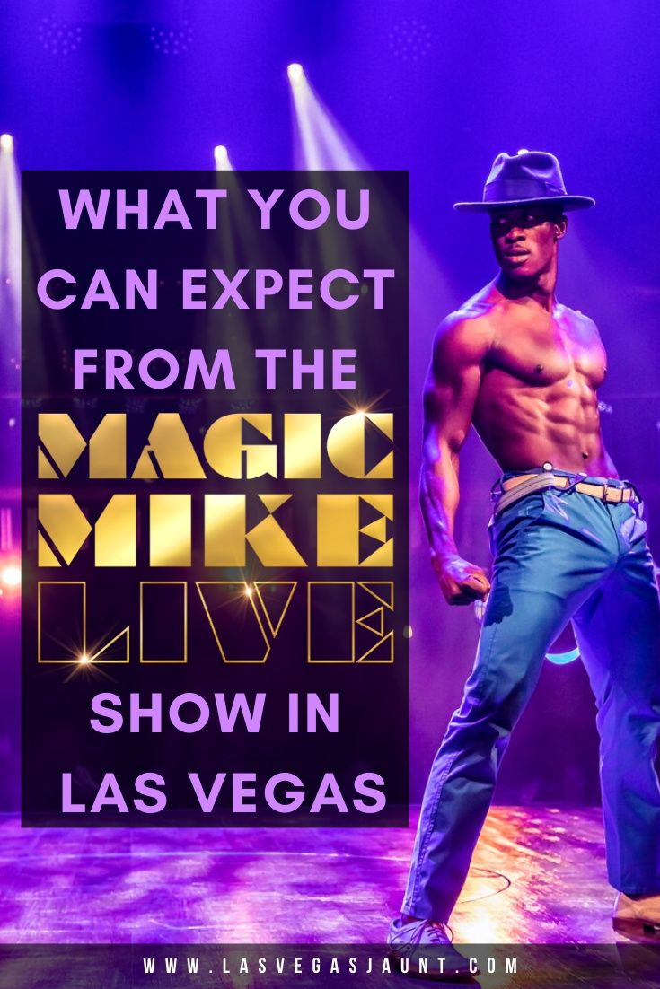 Magic Mike Live Las Vegas Discount Tickets