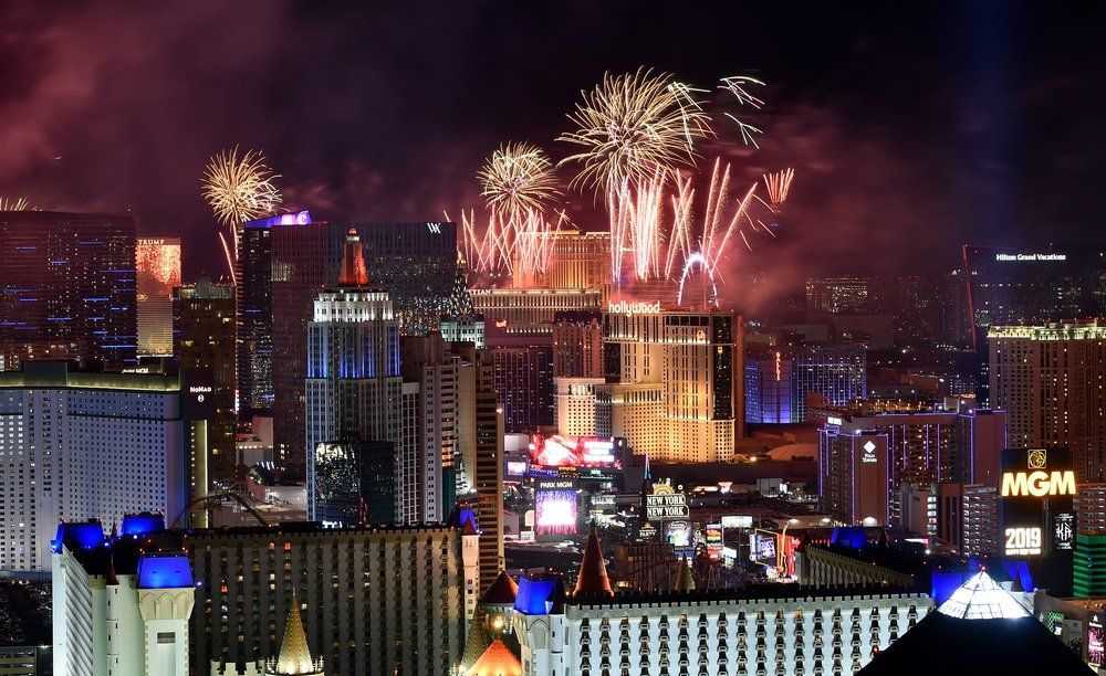 Las Vegas New Year's Eve Fireworks