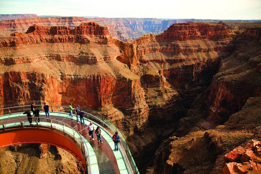 Grand Canyon Skywalk on the Hualapai Reservation