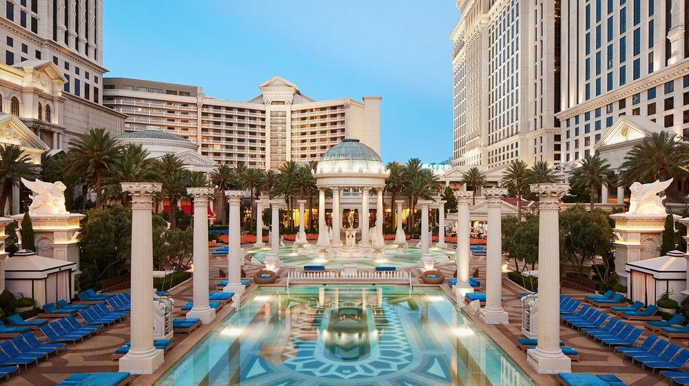 Caesars Palace Las Vegas Neptune Pool
