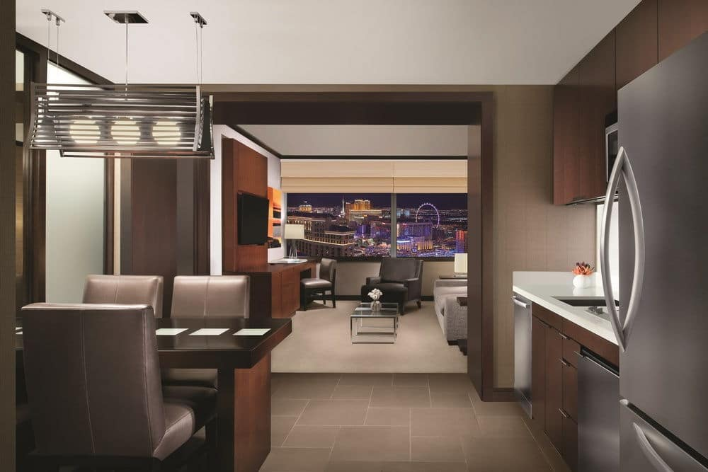 Vdara Las Vegas Studio Suite Kitchen