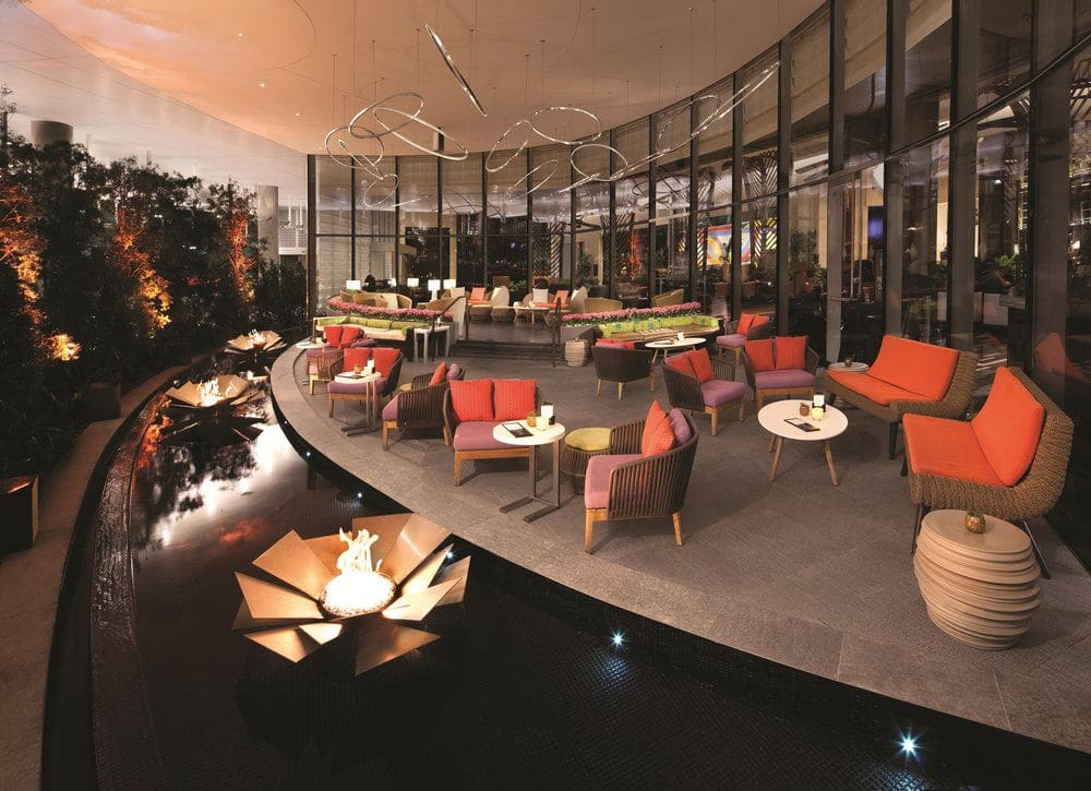 Vdara Las Vegas VICE VERSA Patio & Lounge