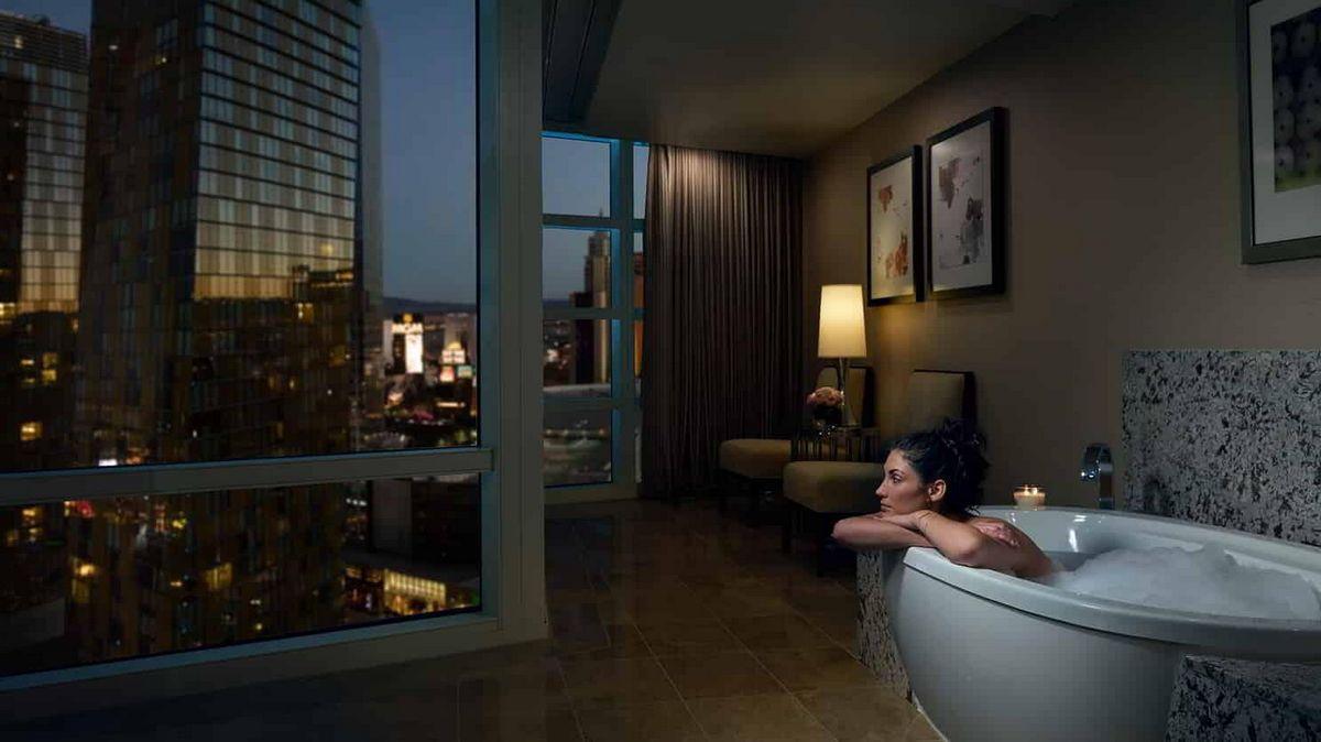 Aria Las Vegas Center Suite Bathroom