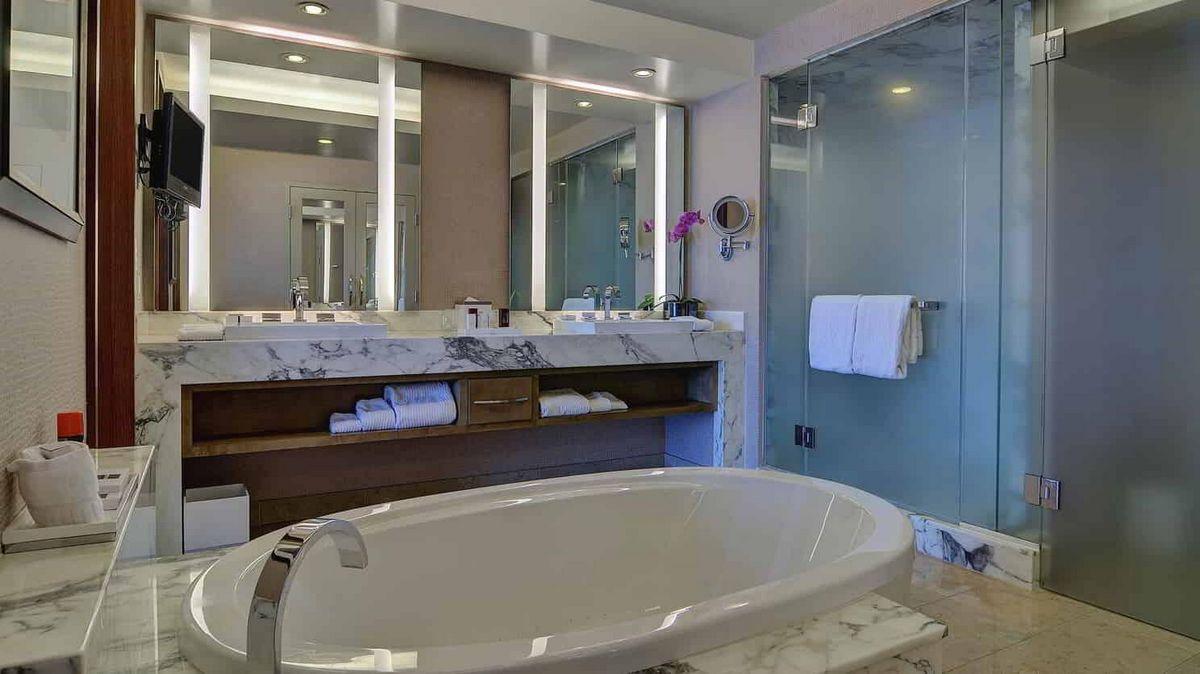 Aria Las Vegas Executive Hospitality Suite Bathroom