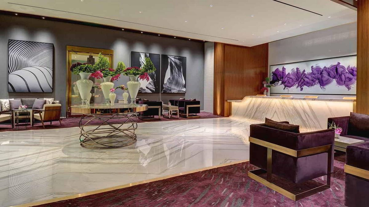 Aria Las Vegas Private Lounge Check-In