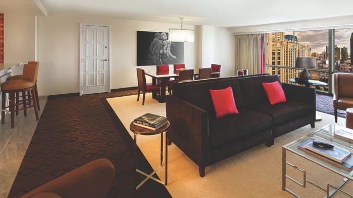 Bally's Las Vegas Jubilee Premium Living Room