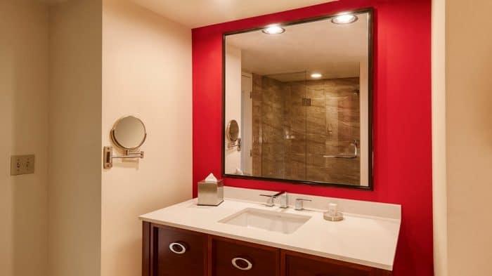 Bally's Las Vegas Jubilee Room Bathroom