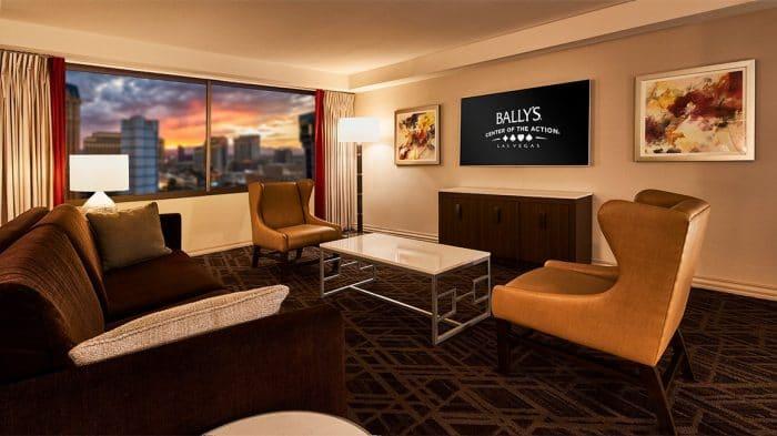 Bally's Las Vegas Resort Premium Suite Living Room