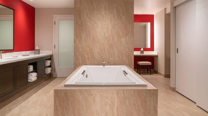 Bally's Las Vegas Resort Presidential Suite Bathroom
