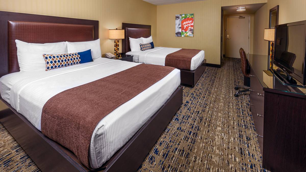 Boulder Station Las Vegas Deluxe Double Queen Room