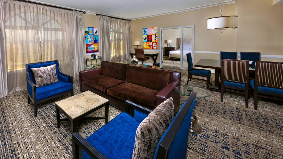 Boulder Station Las Vegas King Suite