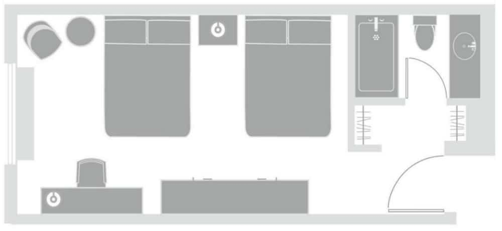 Circus Circus Las Vegas Manor Motor Lounge Room Floor Plan