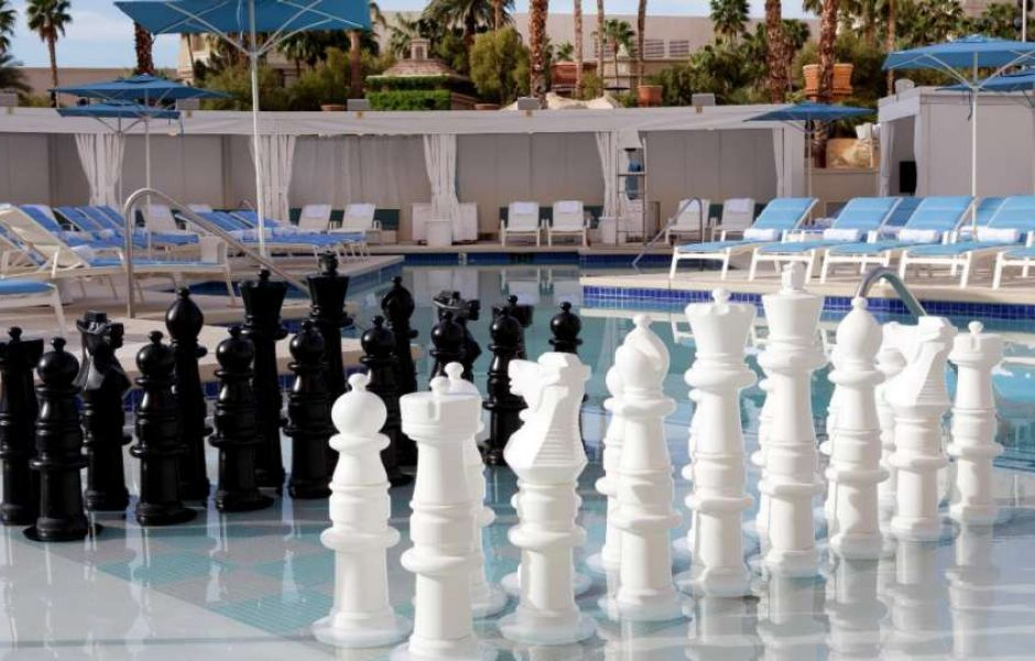 Delano Las Vegas Beach Club Chess