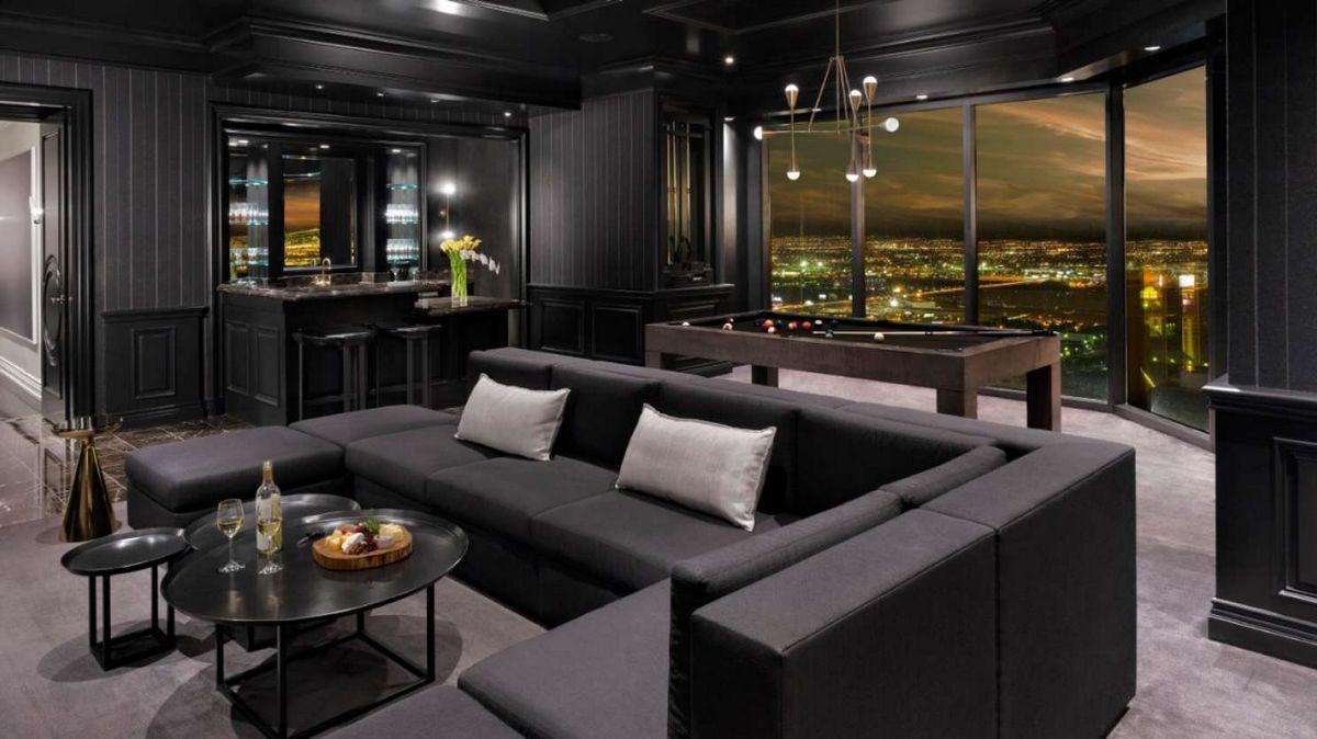 Delano Las Vegas Loft Living Room