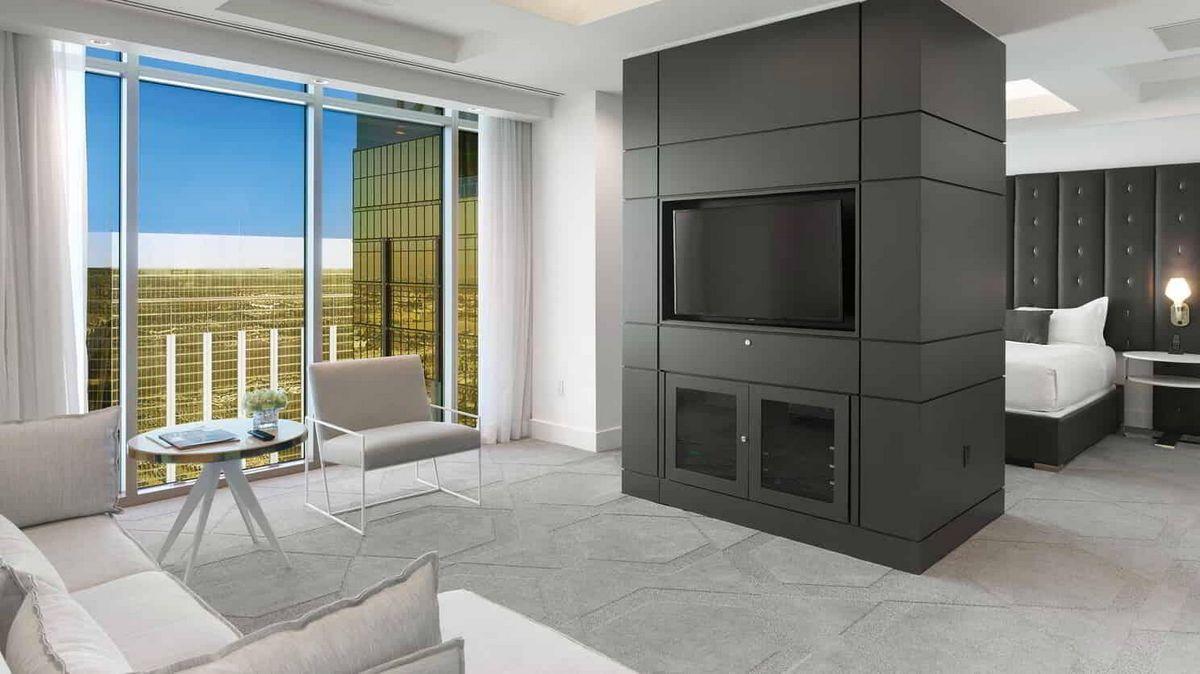 Delano Las Vegas Penthouse Premier Suite BedRoom