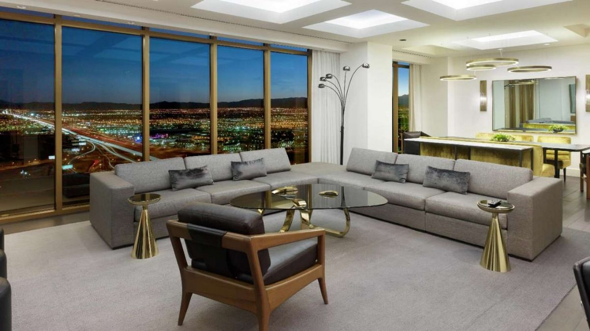 Delano Las Vegas Penthouse Superior Suite Living Room