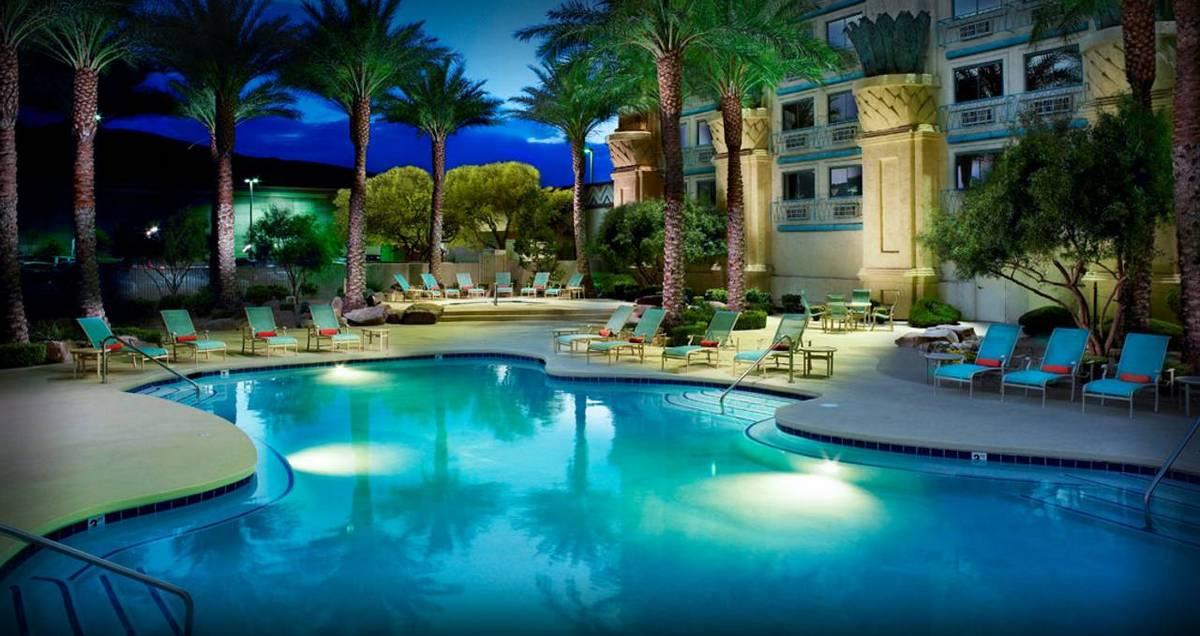Fiesta Henderson Las Vegas Pool at Night
