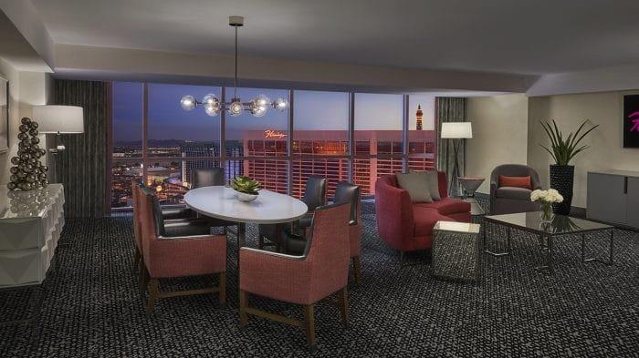 Flamingo Las Vegas Flamingo Executive Suite Living Room