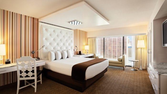 Flamingo Las Vegas Neapolitan Suite Bedroom