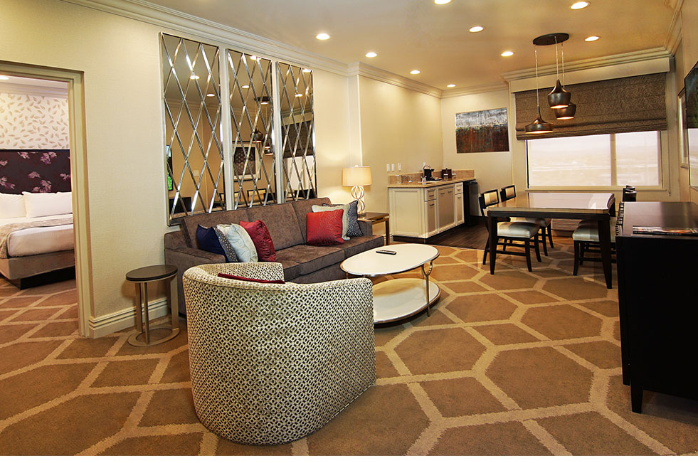 Gold Coast Las Vegas Executive Suite Living Room