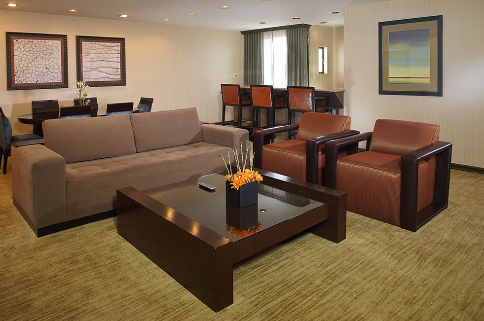 Gold Coast Las Vegas Luxury Suite Living Room