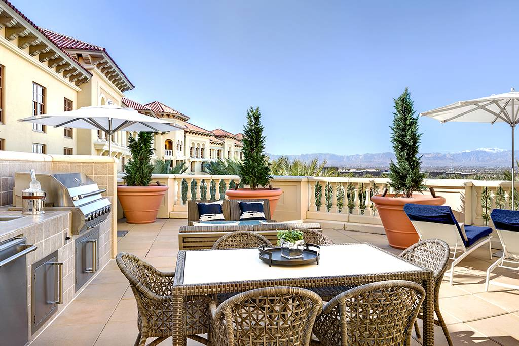 Green Valley Ranch Las Vegas Presidential Suite Terrace