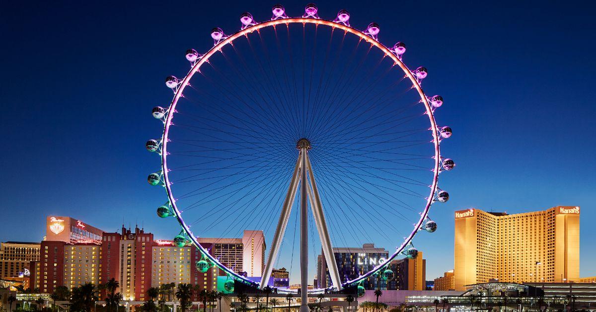 High Roller Wheel Las Vegas Discount