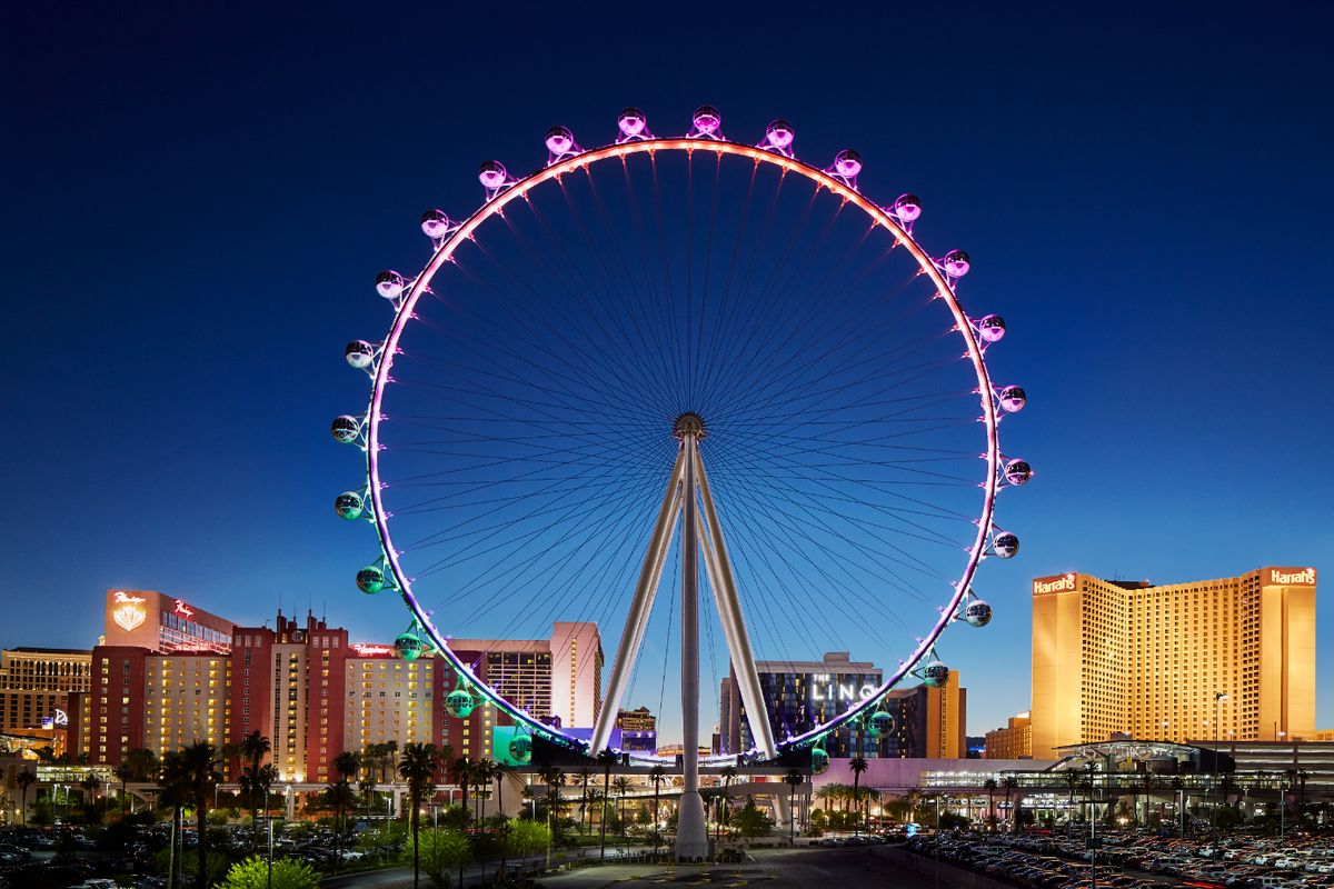 High Roller Wheel Las Vegas Discount
