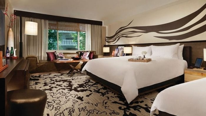 Nobu Hotel Las Vegas Luxury 2 Queen Room