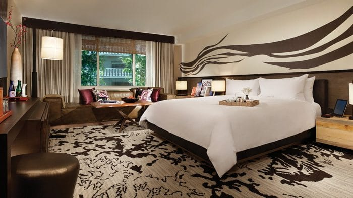 Nobu Hotel Las Vegas Penthouse Bedroom
