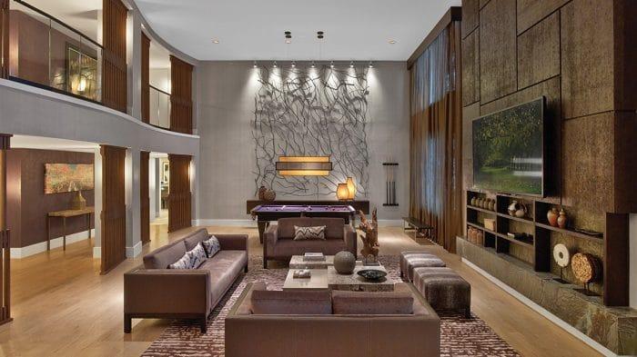 Nobu Hotel Las Vegas Penthouse Living Room