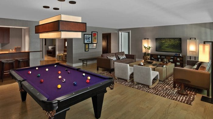 Nobu Hotel Las Vegas Sake Suite Living Room