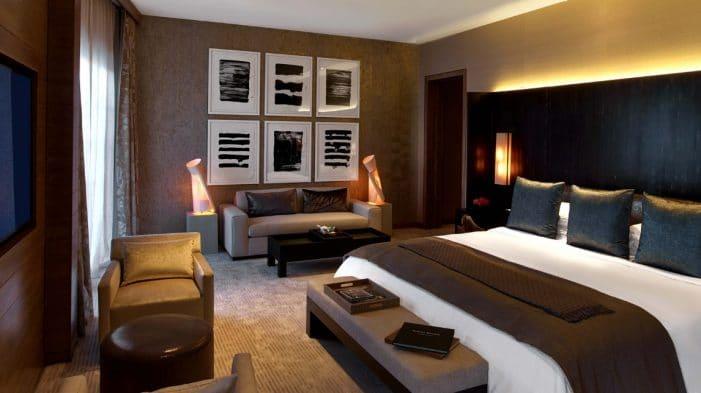 Nobu Hotel Las Vegas Villa Bedroom