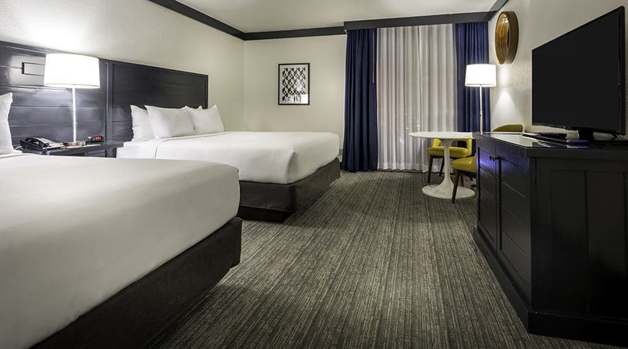 Oyo Las Vegas Standard Two Double Room