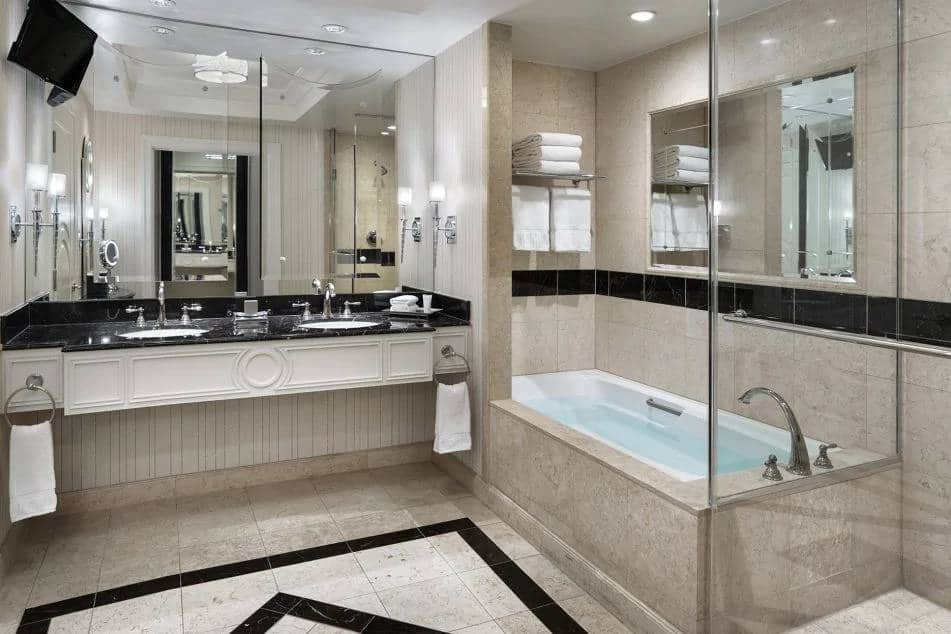 Palazzo Las Vegas Luxury King Suite Bathroom