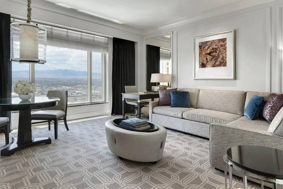 Palazzo Las Vegas Luxury King Suite Living Room