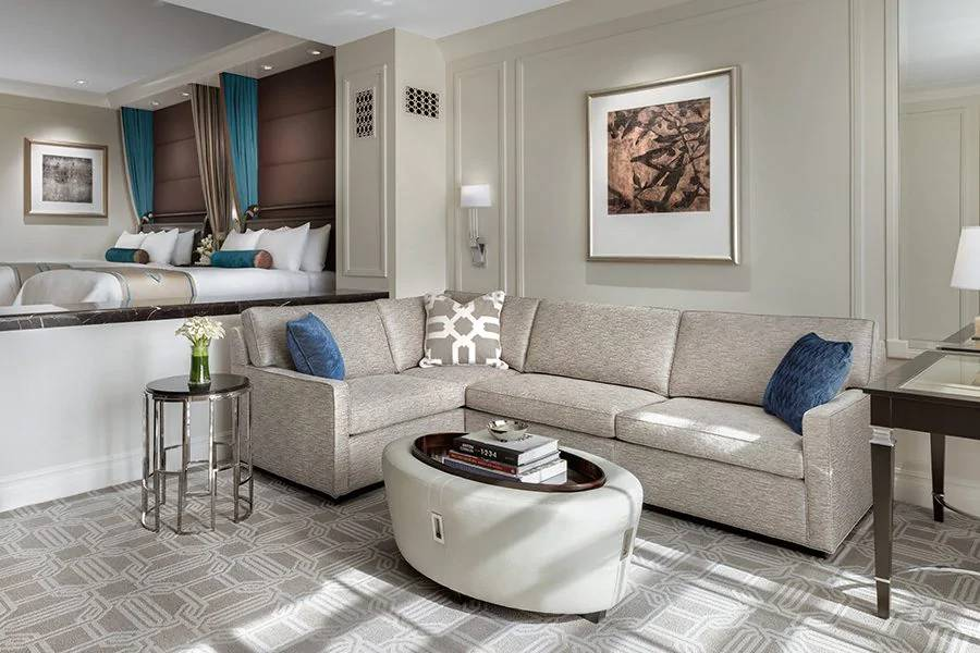 Palazzo Las Vegas Luxury Two Queen Suite Living Room