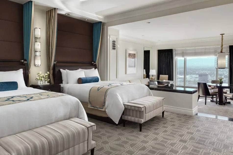 Palazzo Las Vegas Luxury Two Queen Suite