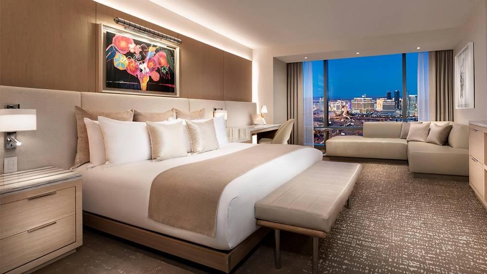 Palms Las Vegas Fantasy Tower Resort One King Room