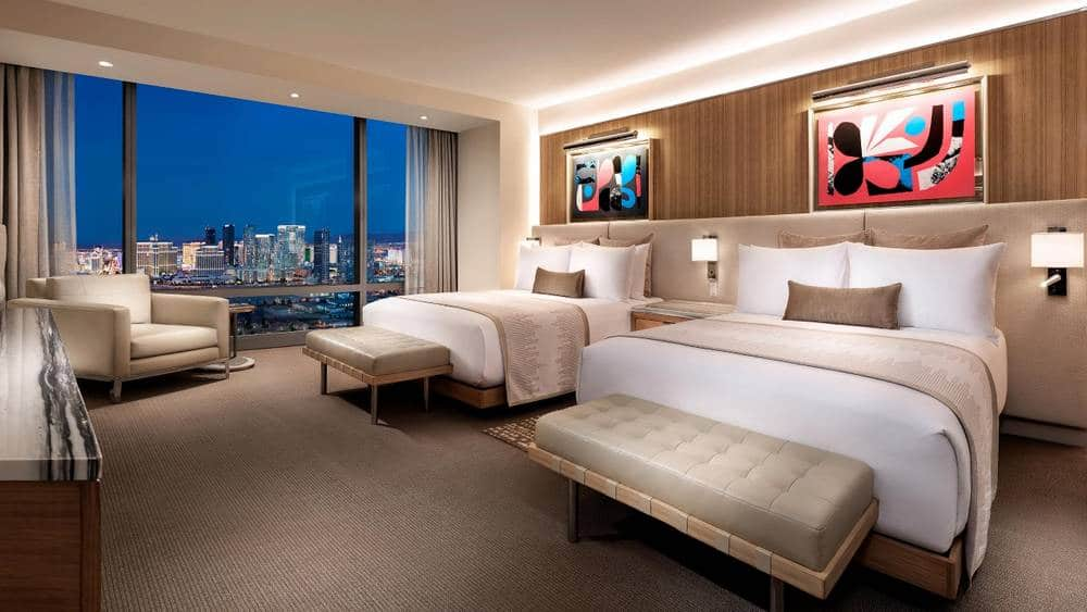 Palms Las Vegas Fantasy Tower Resort Two Queen Room